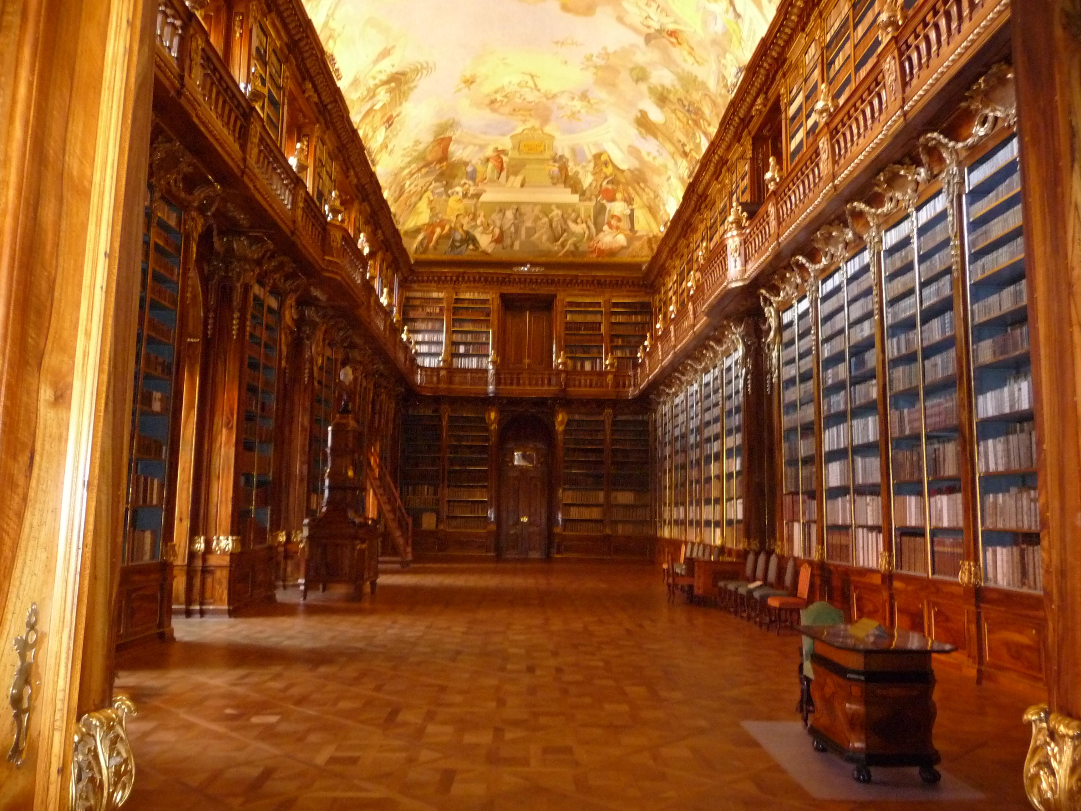 Bibliothek Strahov in Prag