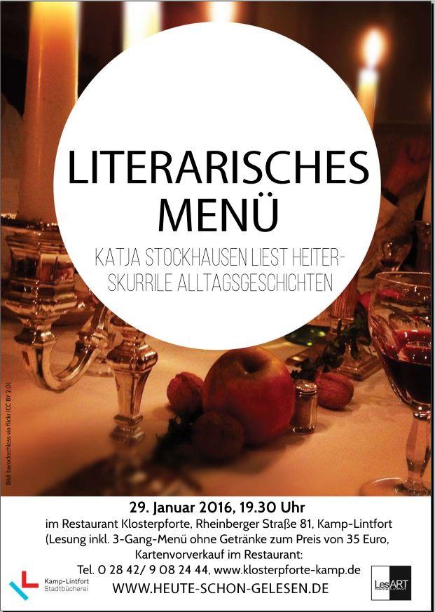 literarisches Menü 2016
