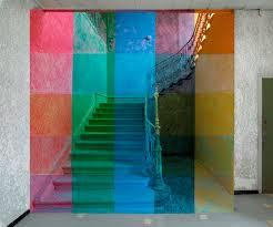 Treppe farblich überlegt