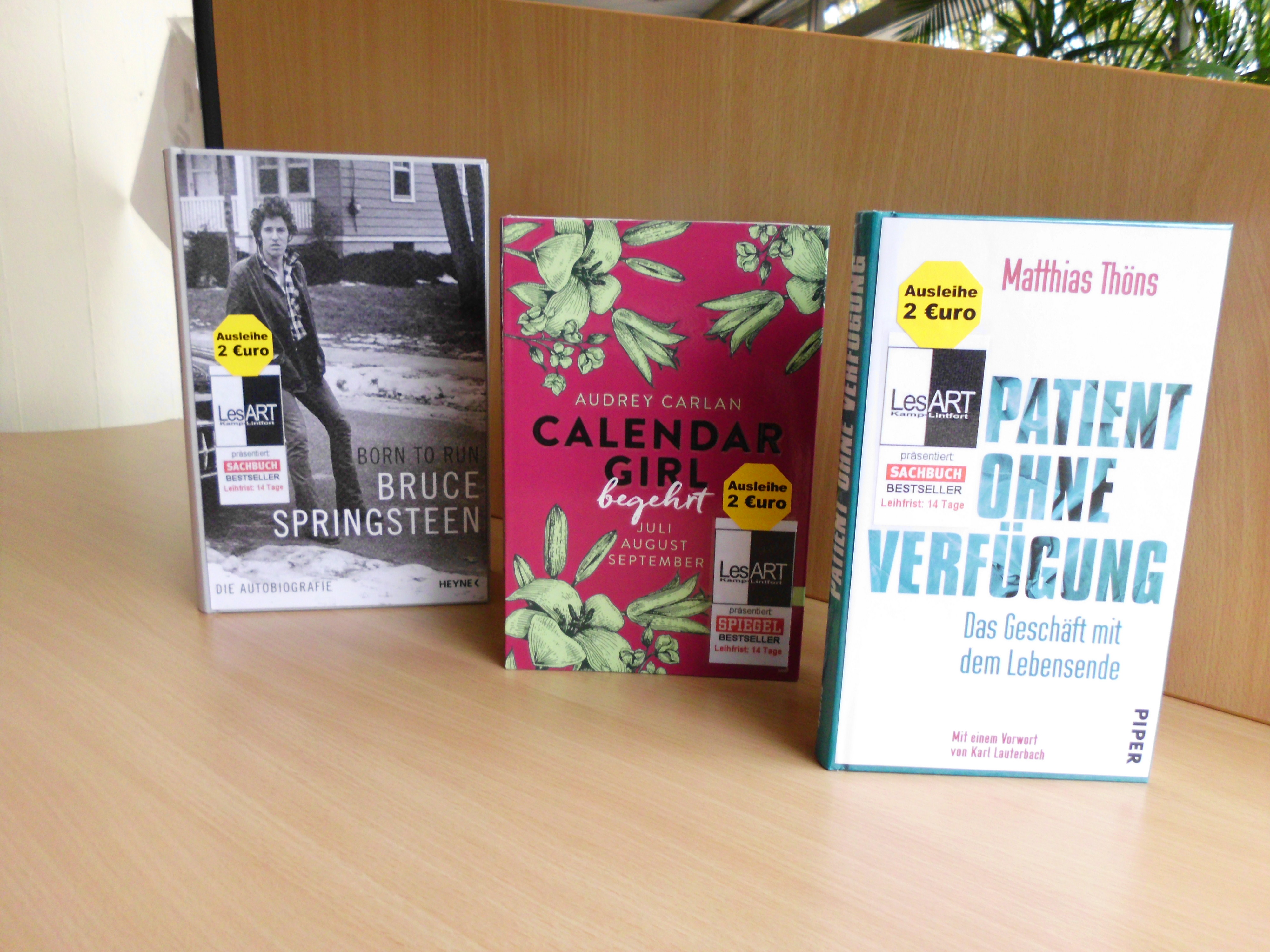 Bestseller Springsteen, Thöns, Carlan