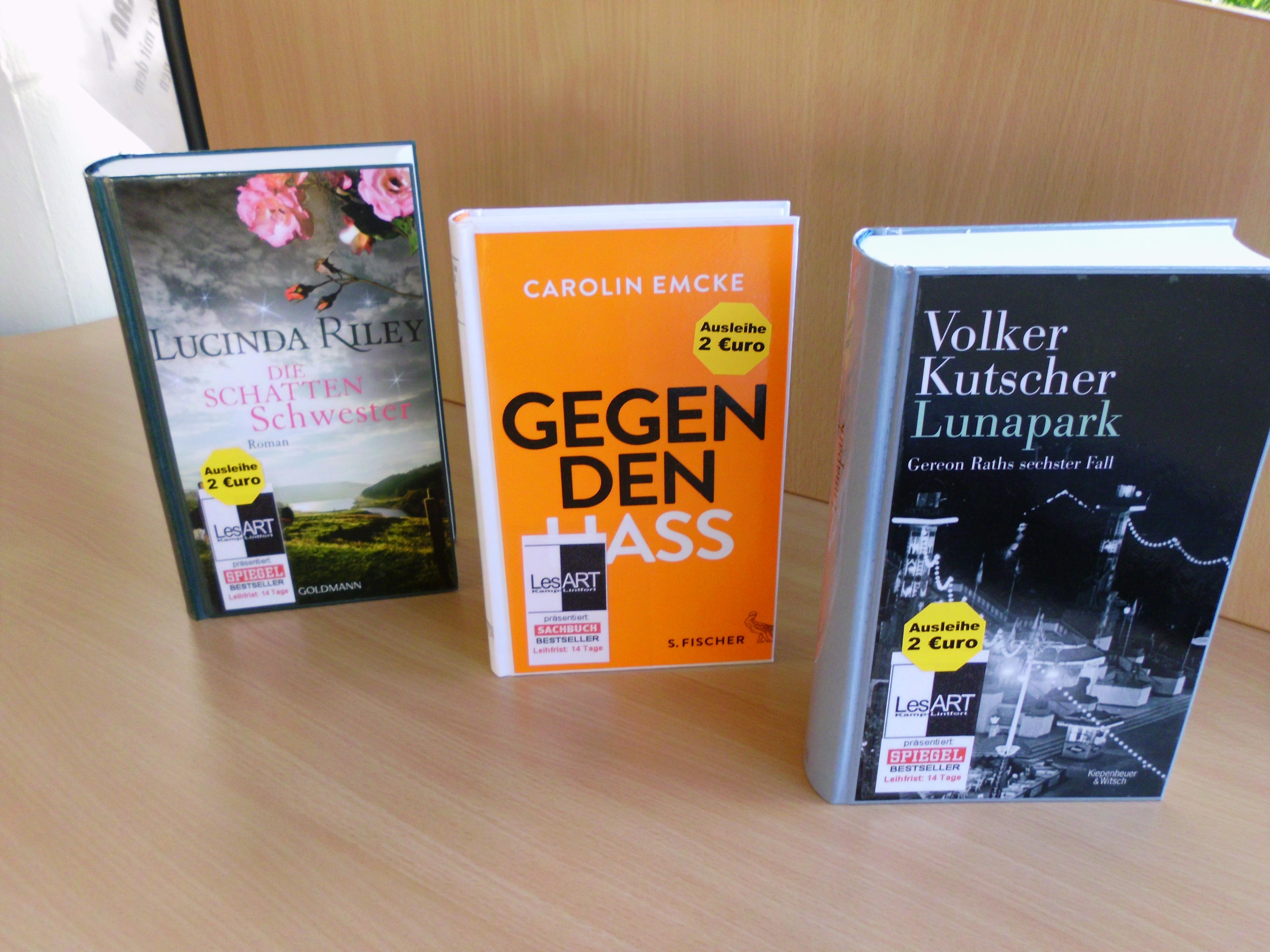 Bestseller Emcke, Riley, Kutscher