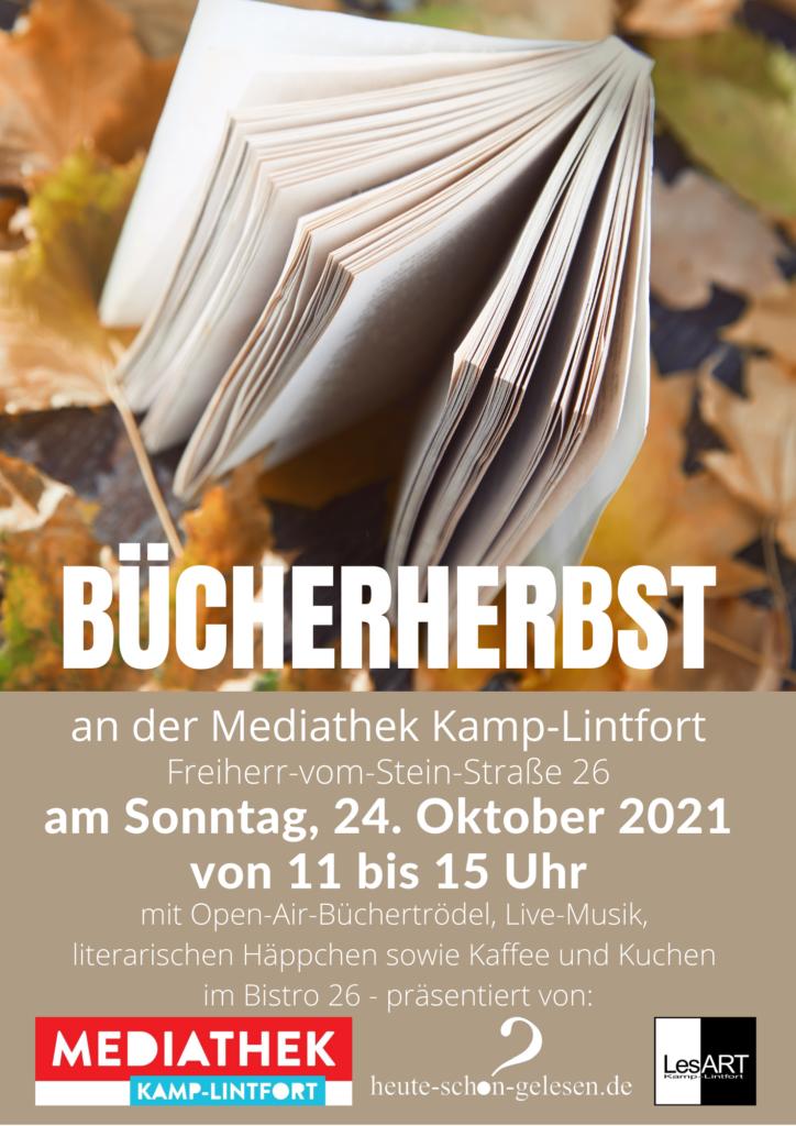 Bücherherbst 24.10.2021